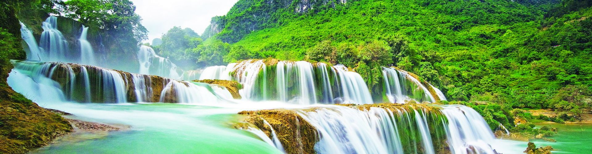 Destinations in  Ban Gioc Waterfall