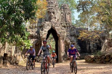 Angkor Cycling Full Day