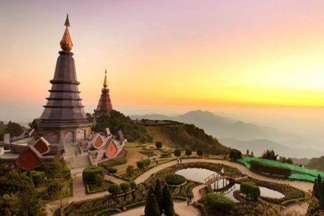 Chiang Mai, the largest city in northern Thailand