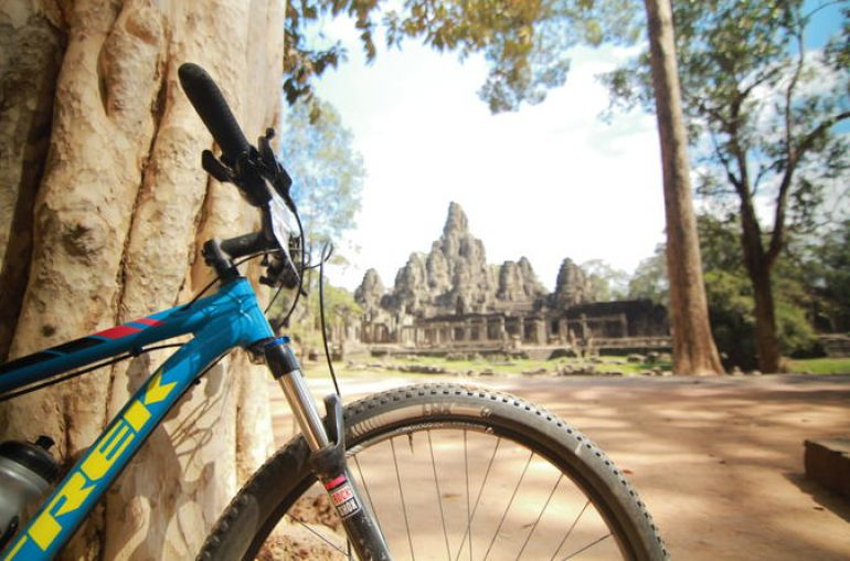 Angkor Adventure On Bicycle 3 Days