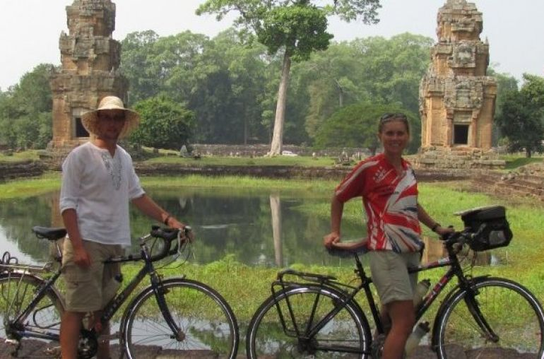 Cycling in Angkor