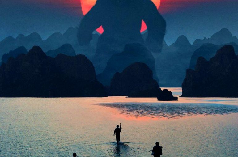 Halong bay - firlming location for Kong Movie skull island