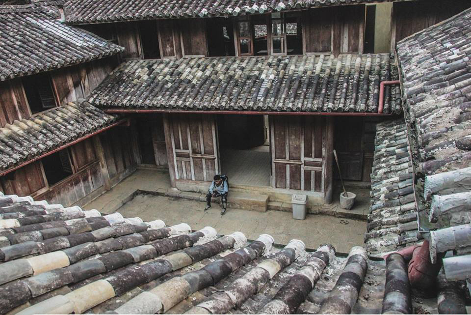 The house of Vuong Family in Ha Giang, Vietnam