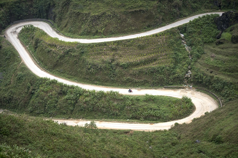 Happy road Hagiang Vietnam