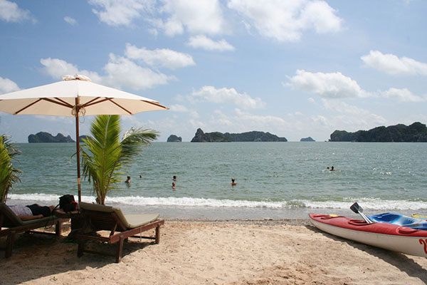 Ti Top beach the most 7 charming beaches of Ha Long