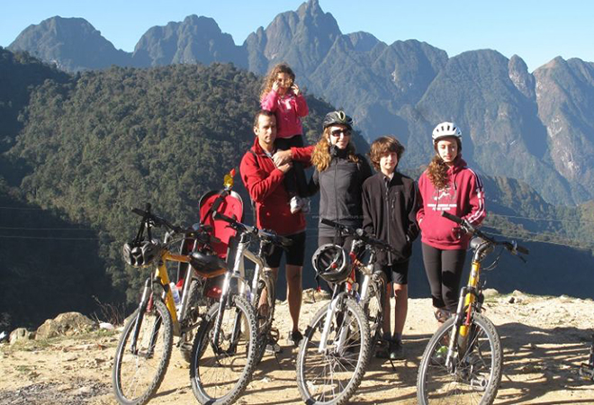 Sapa full day cycling tour